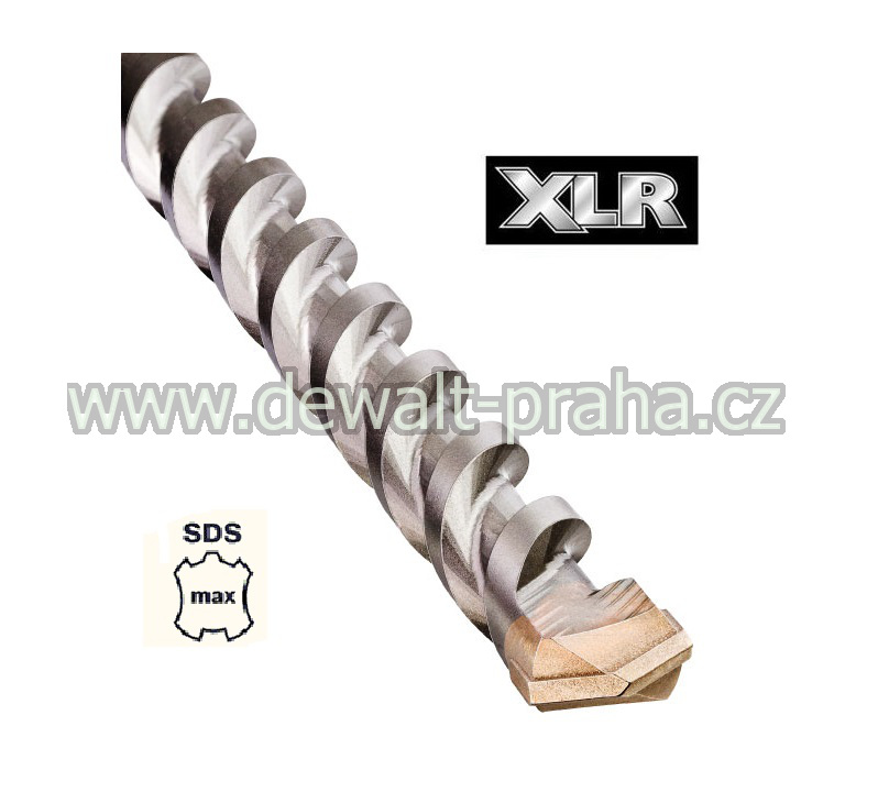 DT60804 DeWALT XLR Vrták 13 x 540 mm, SDS Max dvoubřitý pouze dva břity