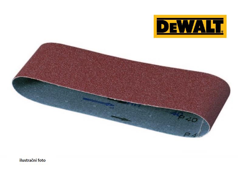 DT3629 DeWALT Brusný pás 75 x 533 mm, P120 Zrnitost P120