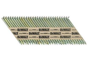 DT99731RH DeWALT Žárově pozinkované kroužkované hřebíky 3,1x75mm, 1100ks do DCN690 , EC5 třída 3