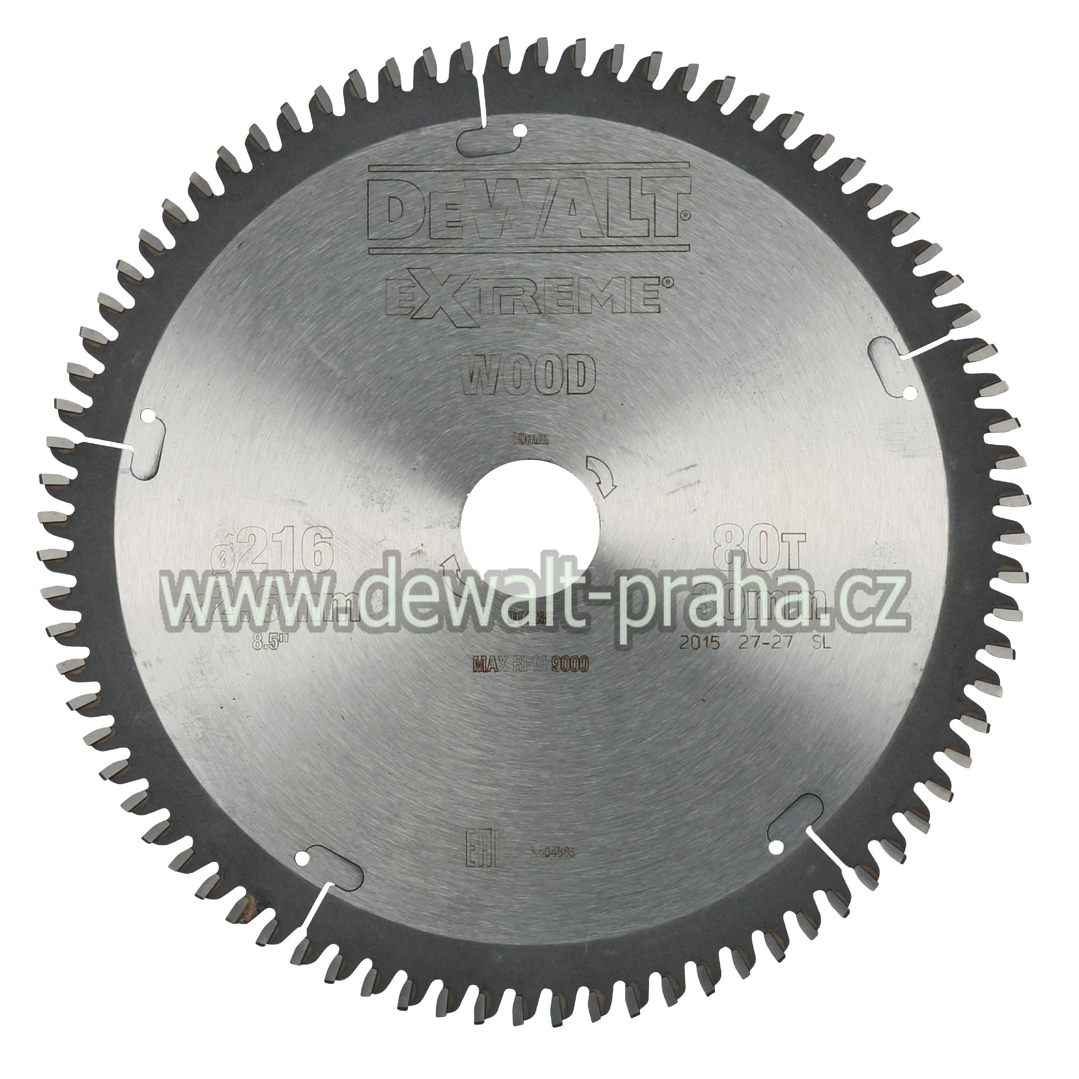 DT4015 DeWALT Pilový kotouč 235 x 30 mm, 18 zubů