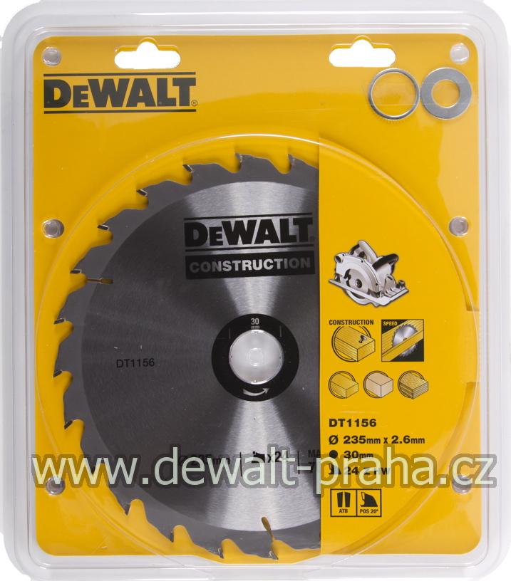 DT4067 DeWALT Pilový kotouč 235 x 30 mm, 40 zubů