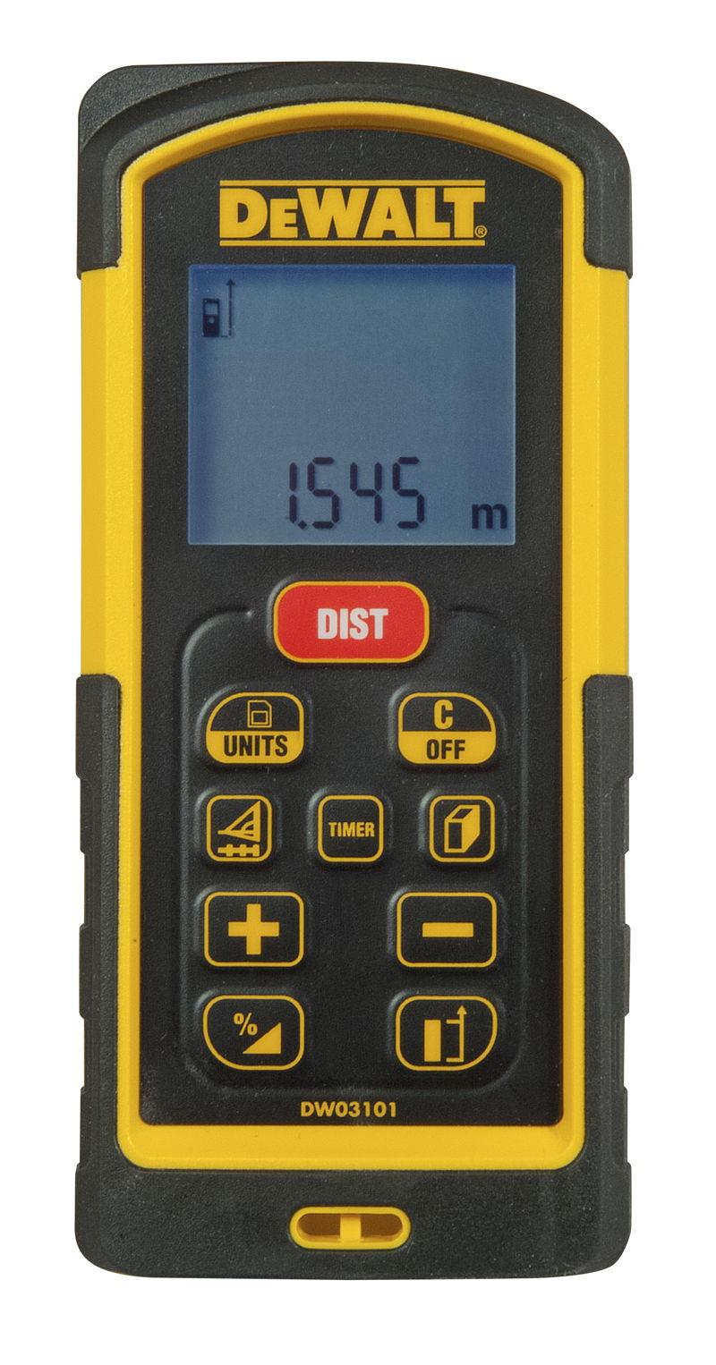 Laserový měřič vzdálenosti 100 m / dálkoměr DeWALT - DW03101 DOPRAVA ZDARMA