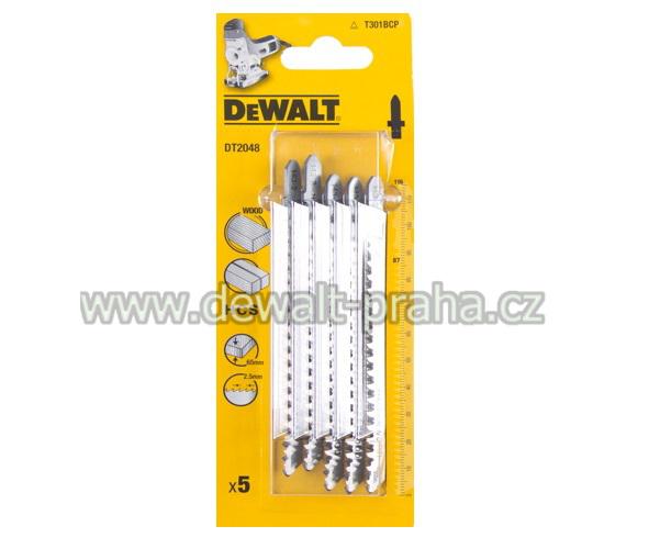 DT2048 DeWALT pilový plátek HCS 116 mm na dřevo 5ks