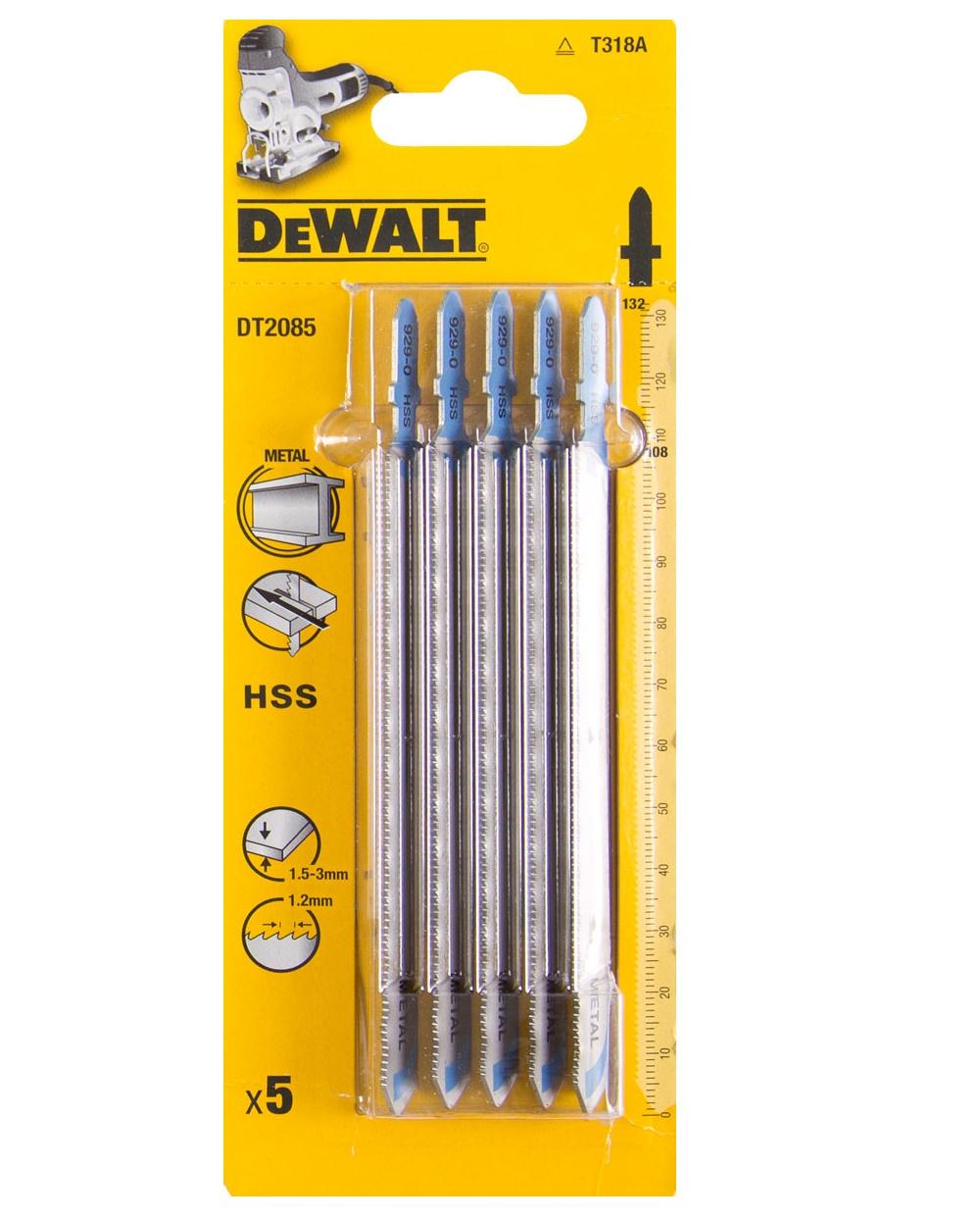 DT2051 DeWALT pilový plátek HCS 132 mm na dřevo 5ks