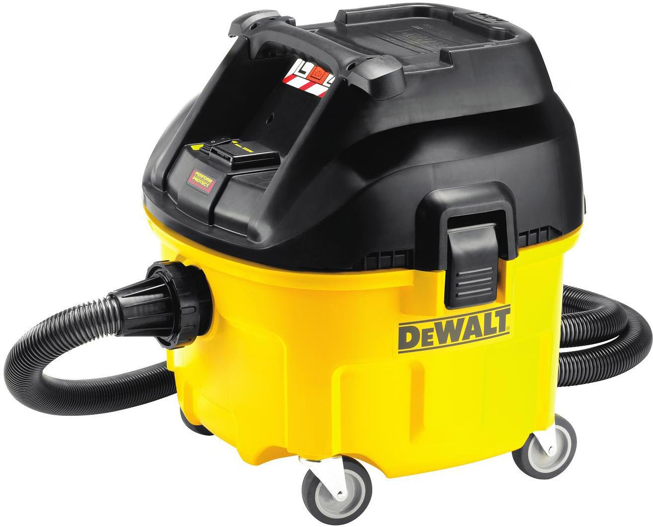 Průmyslový vysavač pro suché i mokré vysávání 30l, DWV900L - DEWALT
