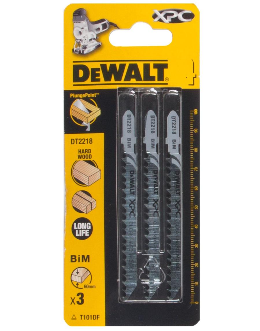 DT2218 DeWALT pilový plátek XPC 100 mm na dřevo 3 ks bimetalový s dlouhou životností