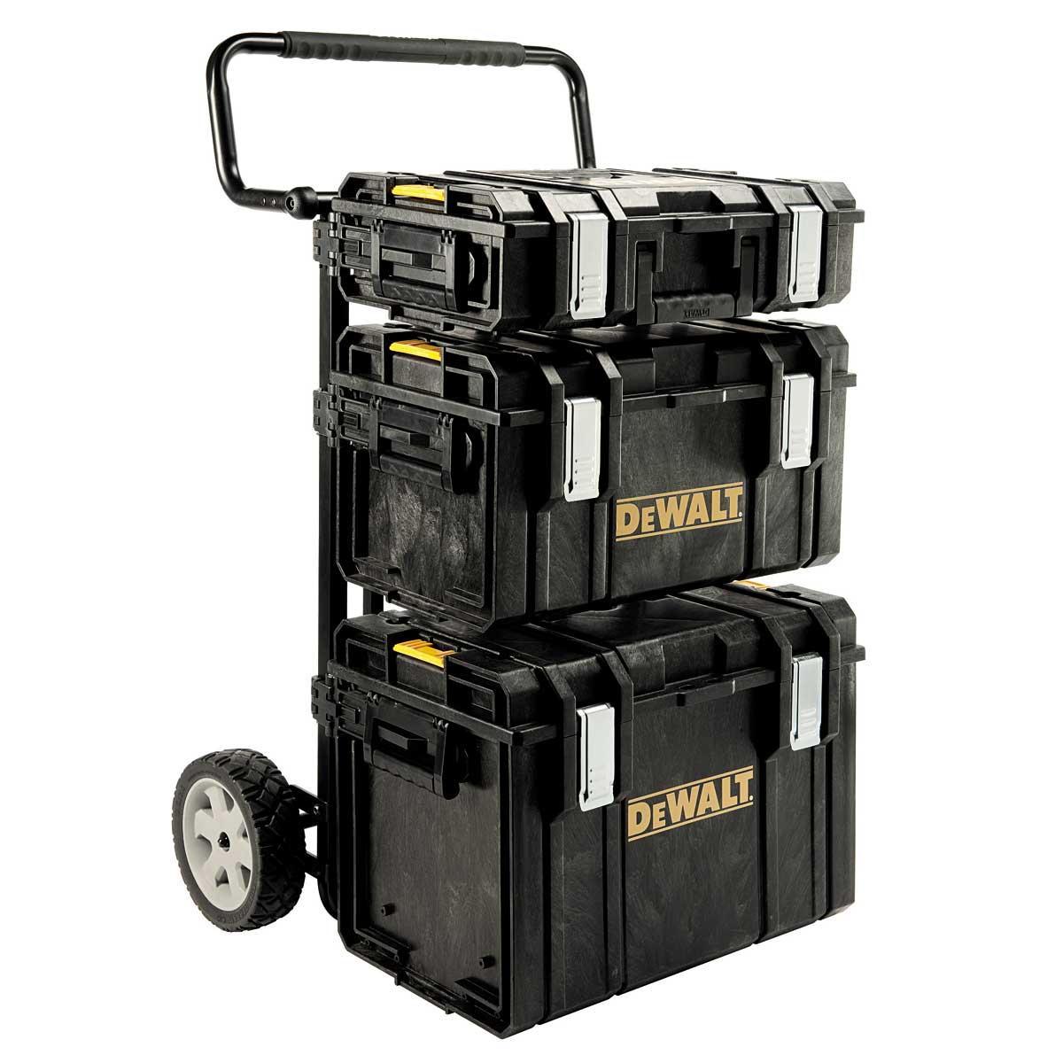 1-70-349 DeWALT Kompletní set kufrů Tough Box a přepravního vozíku DSCarrier DOPRAVA ZDARMA