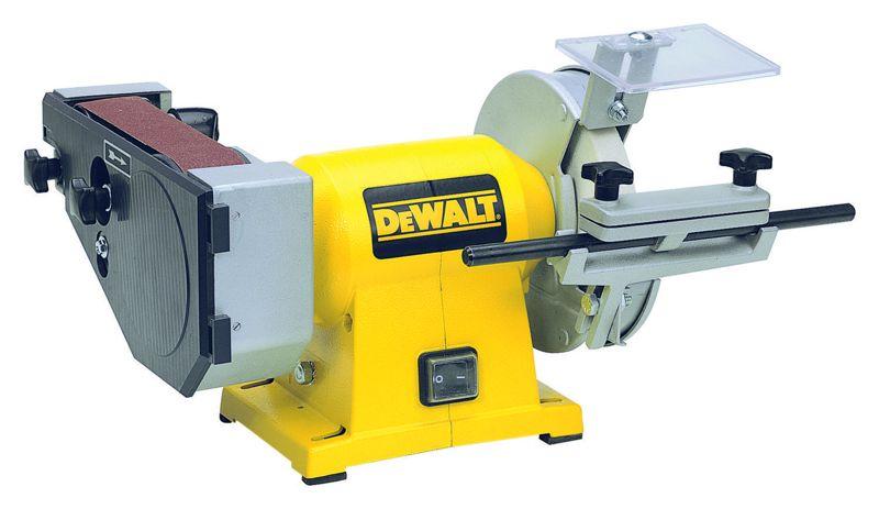 DW753 DeWALT Pásová a kotoučová bruska 150/40 mm, 415 W