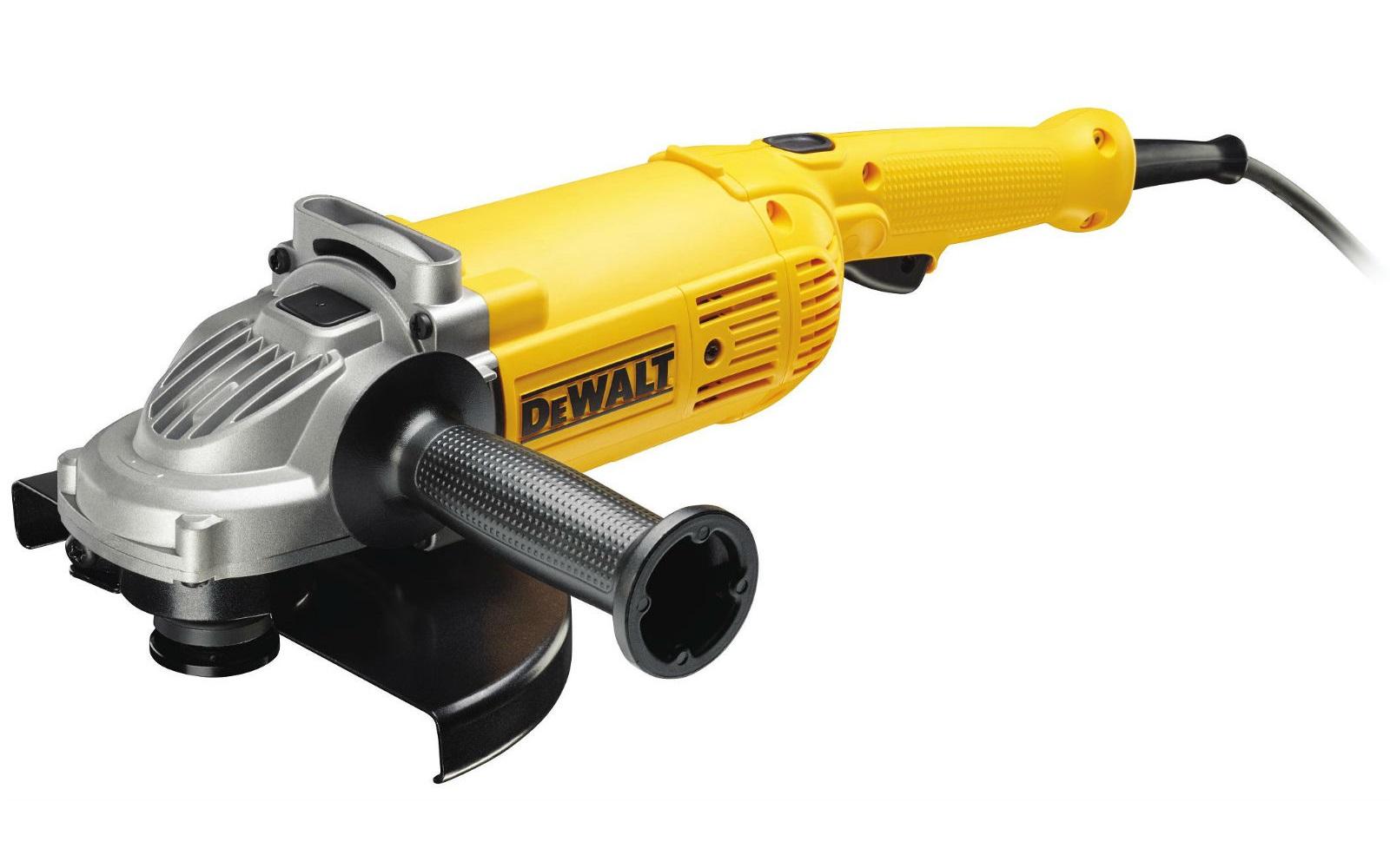 DWE490 DeWALT Velká úhlová bruska 230 mm, 2000 W