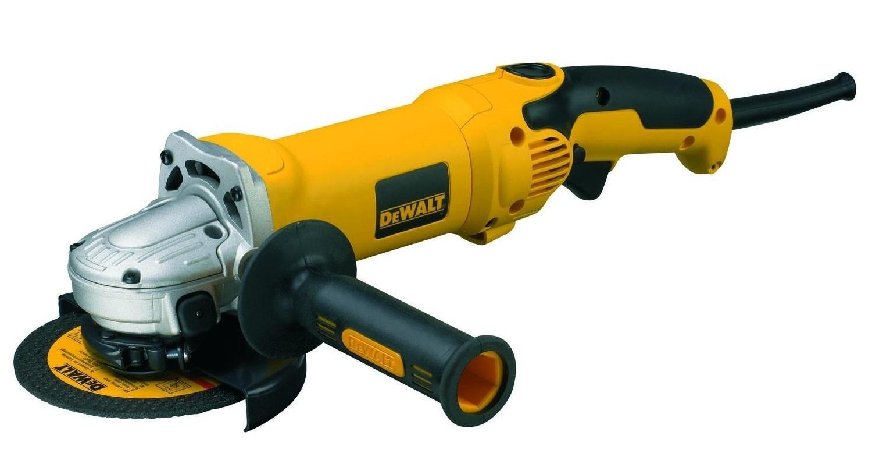 D28065 DeWALT Malá úhlová bruska 125 mm, 1250 W