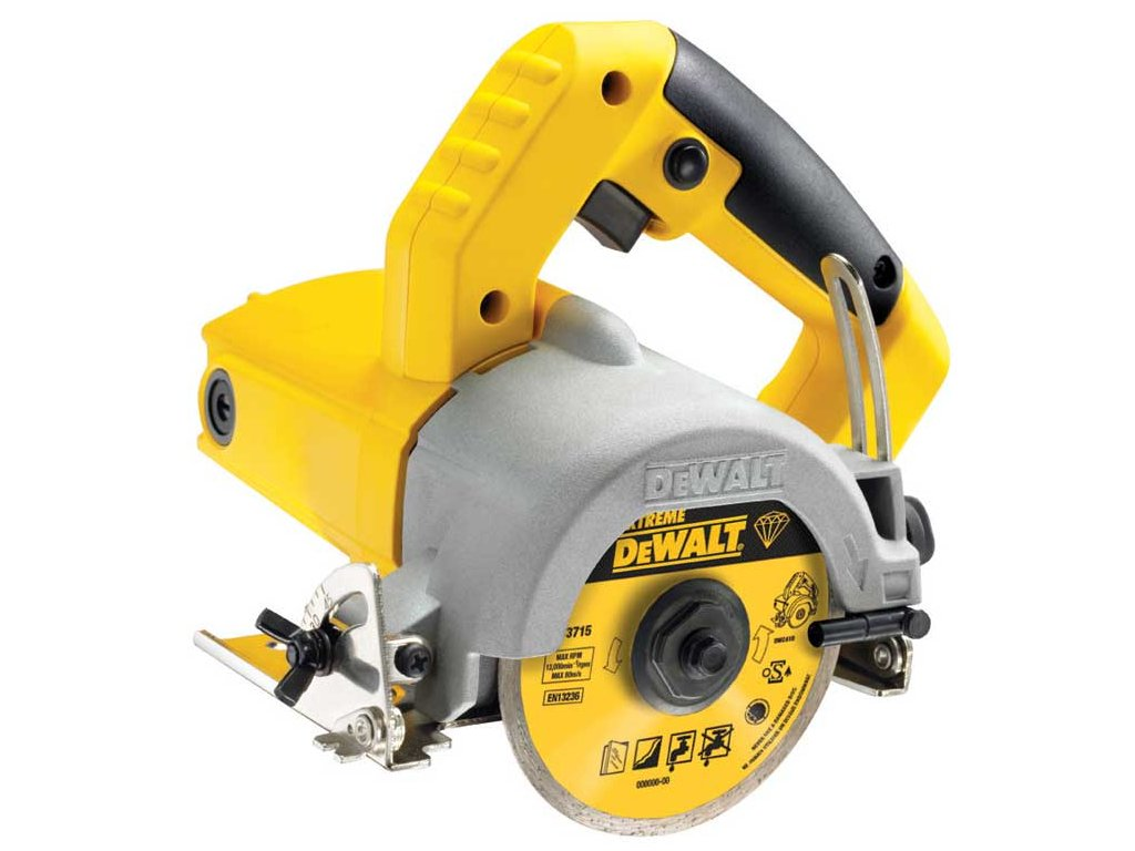DWC410 DeWALT Ruční řezačka pro mokré řezání dlažby 110 mm