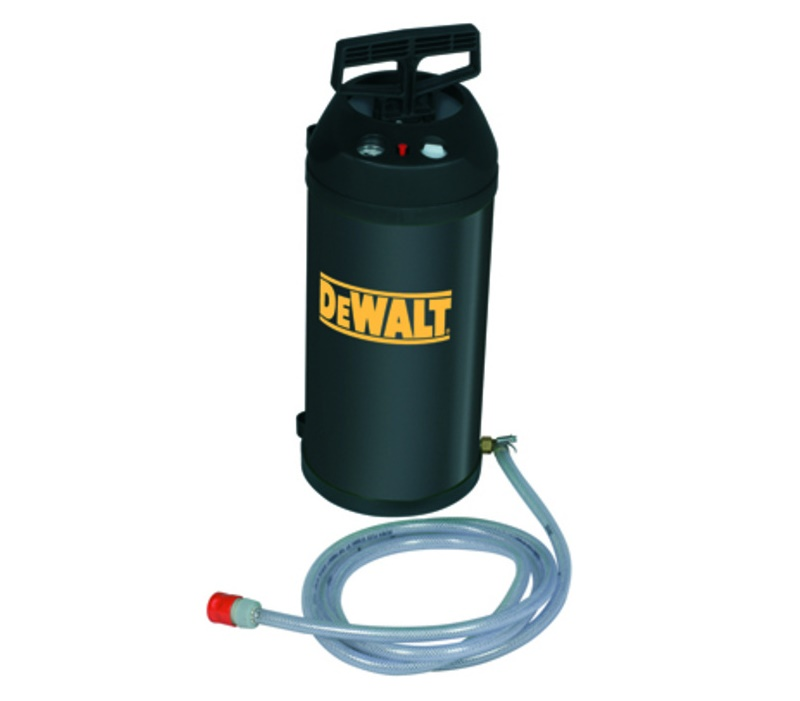 D215824 DeWALT Vodní tlaková nádrž 10 l pro pro diamantové vrtačky (čerpadlo) Pro D21582K, D21583K, D21585