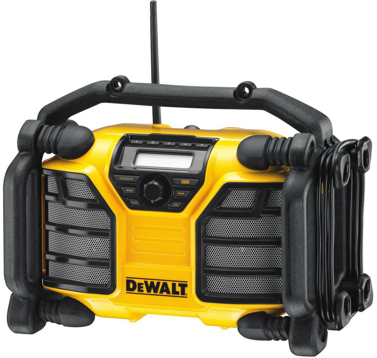 DCR016 DeWALT Aku i síťové rádio FM/AM XR Li-Ion
