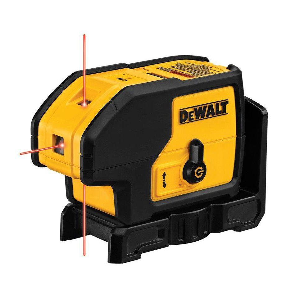 DW083K DeWALT Samonivelační 3-bodová laserová olovnice