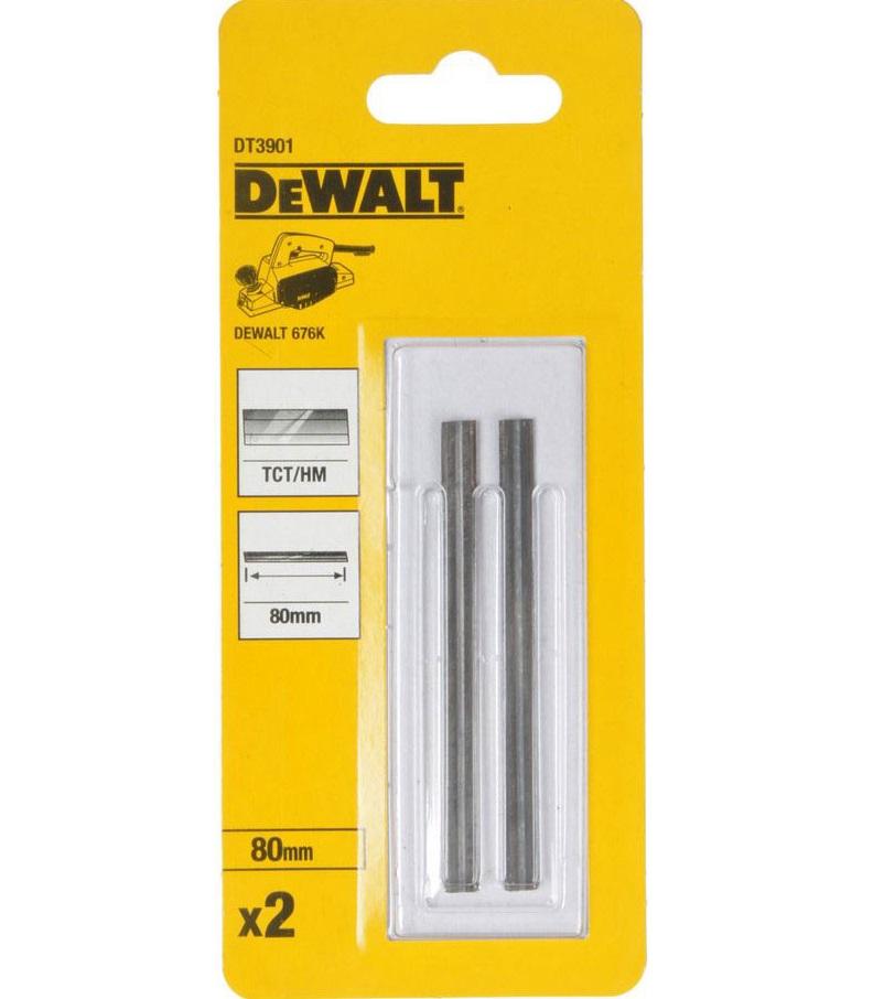 Tvrdokovové hoblovací nože 80 mm,TCT DeWALT - DT3901