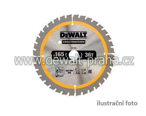 DT1945 DeWALT Pilový kotouč 190 x 30mm, 40 zubů
