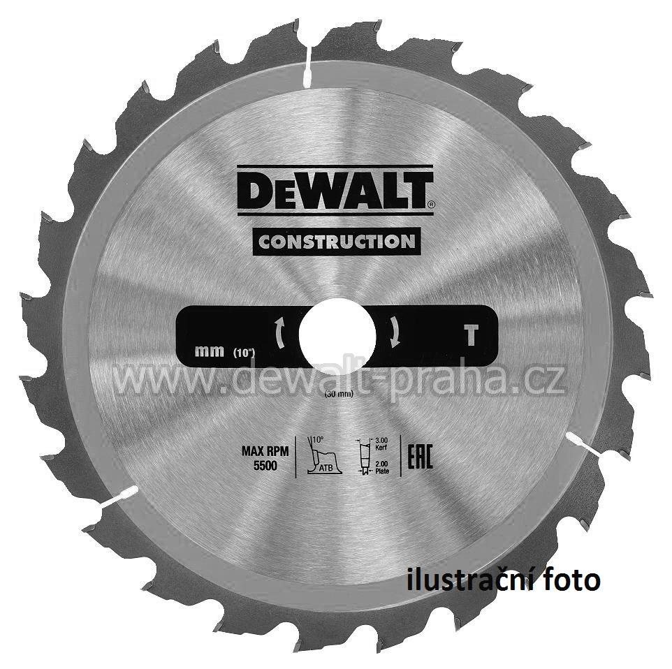 DT1955 DeWALT Pilový kotouč 235 x 30 mm, 40 zubů