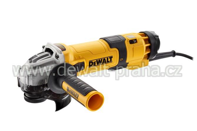 DWE4257 DeWALT Úhlová bruska 125 mm, 1500 W, regulace otáček