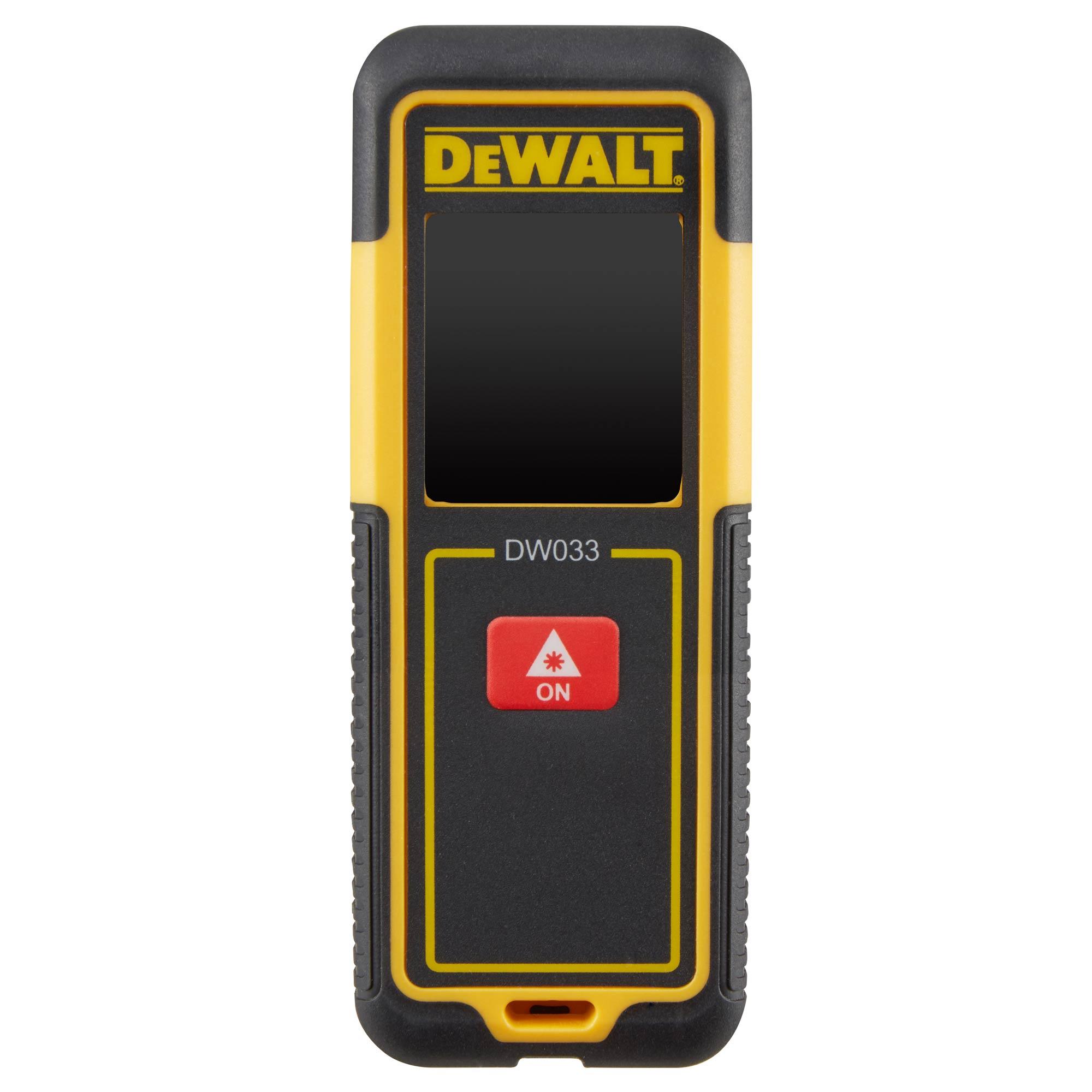 DW033 DeWALT Laserový měřič vzdálenosti