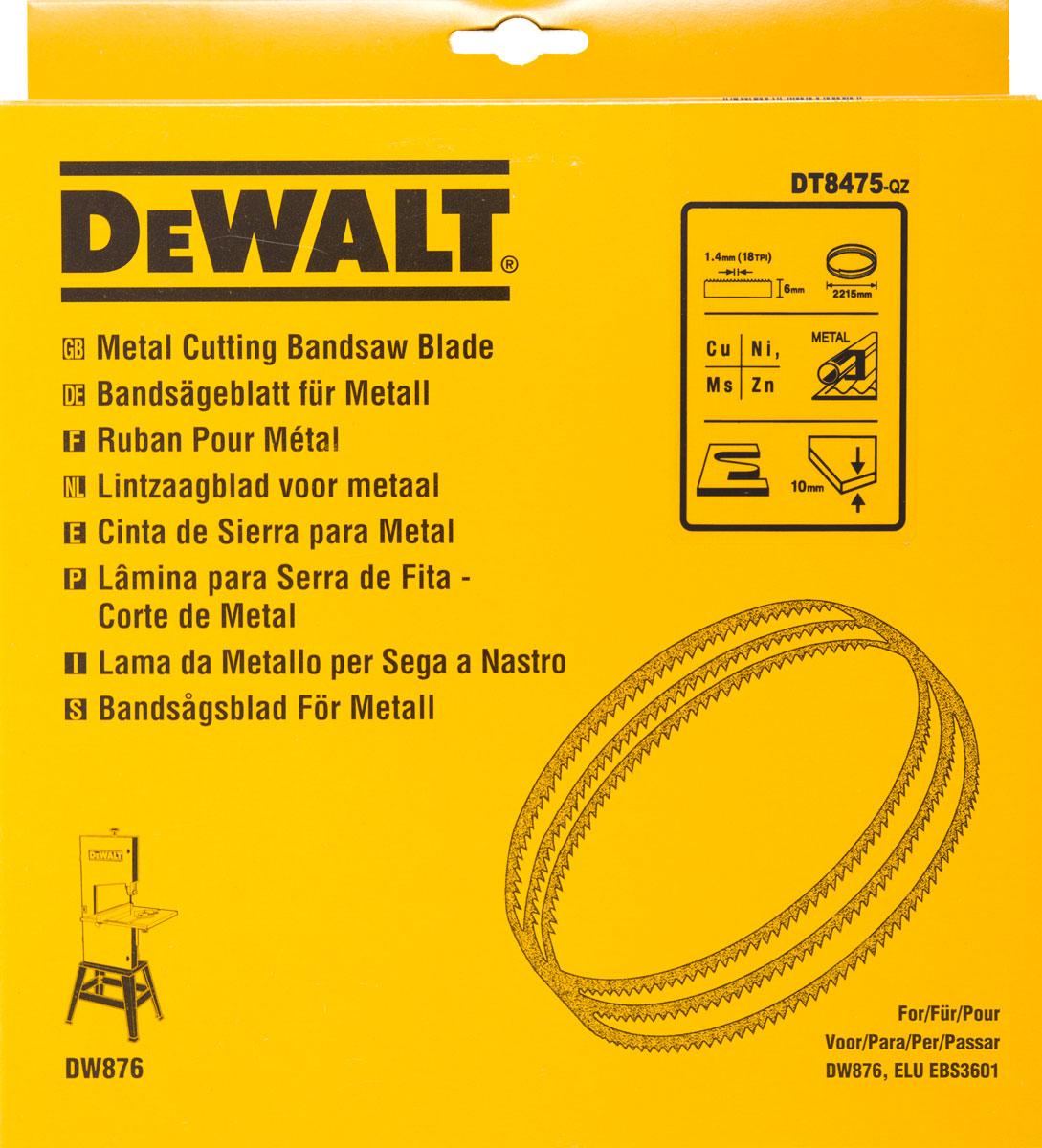 Pilový pás na barevné kovy, pro DW876 6 mm DeWALT - DT8475