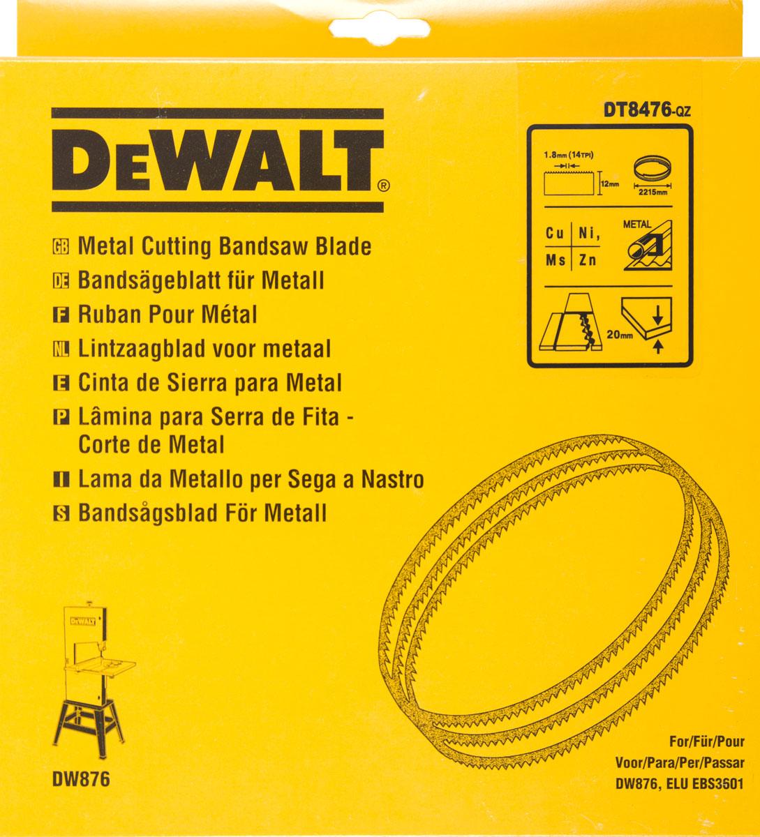 Pilový pás na barevné kovy, pro DW876 12 mm DeWALT - DT8476