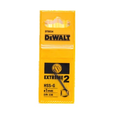 Vrták do kovu 1x34mm EXTREME2 DeWALT - DT5034