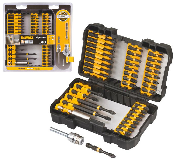 DT70541T DeWALT 40 dílný set Torsion bitů