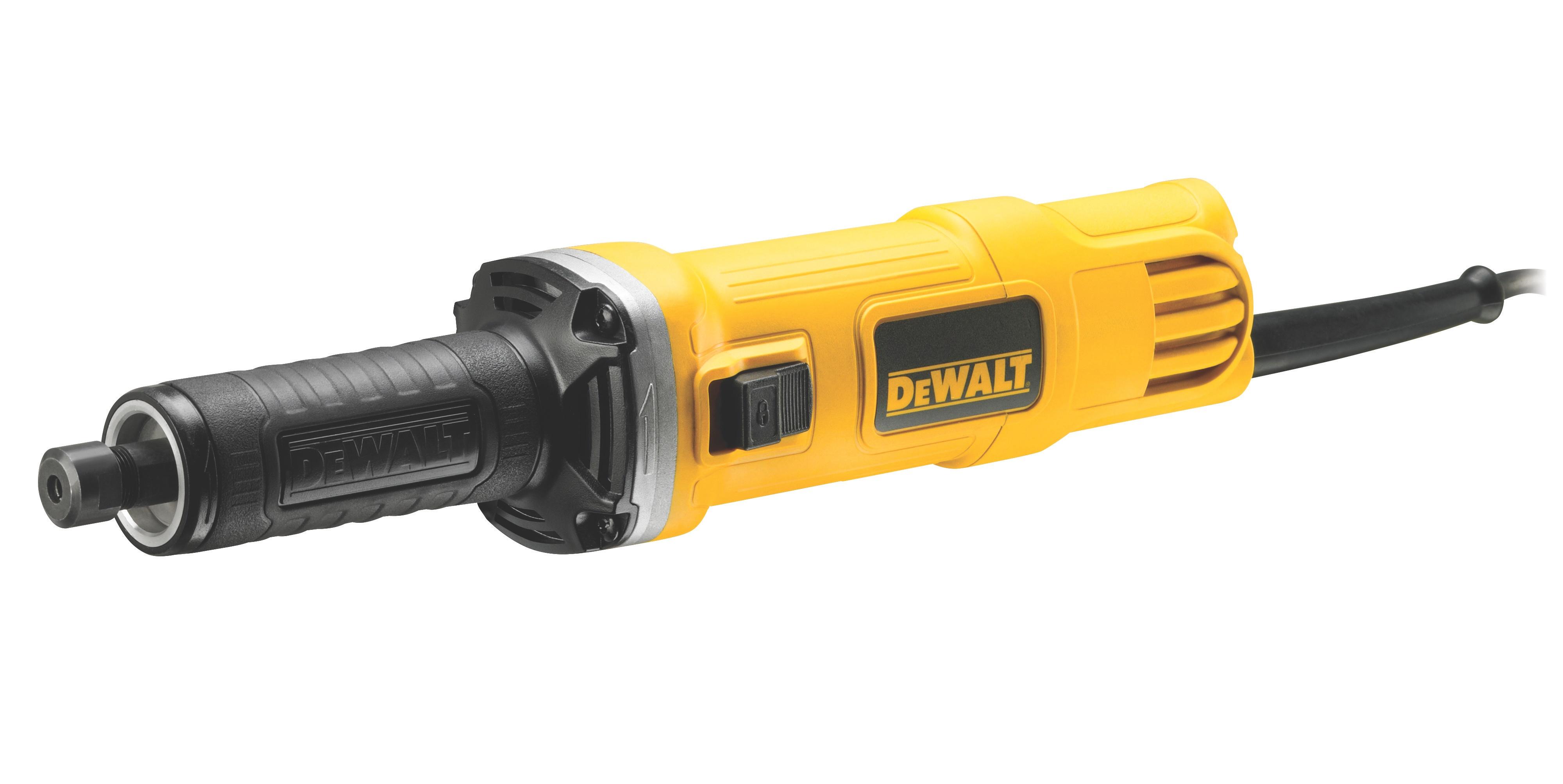 Přímá bruska 450 W ,6 mm s posuvným spínačem DeWALT - DWE4884