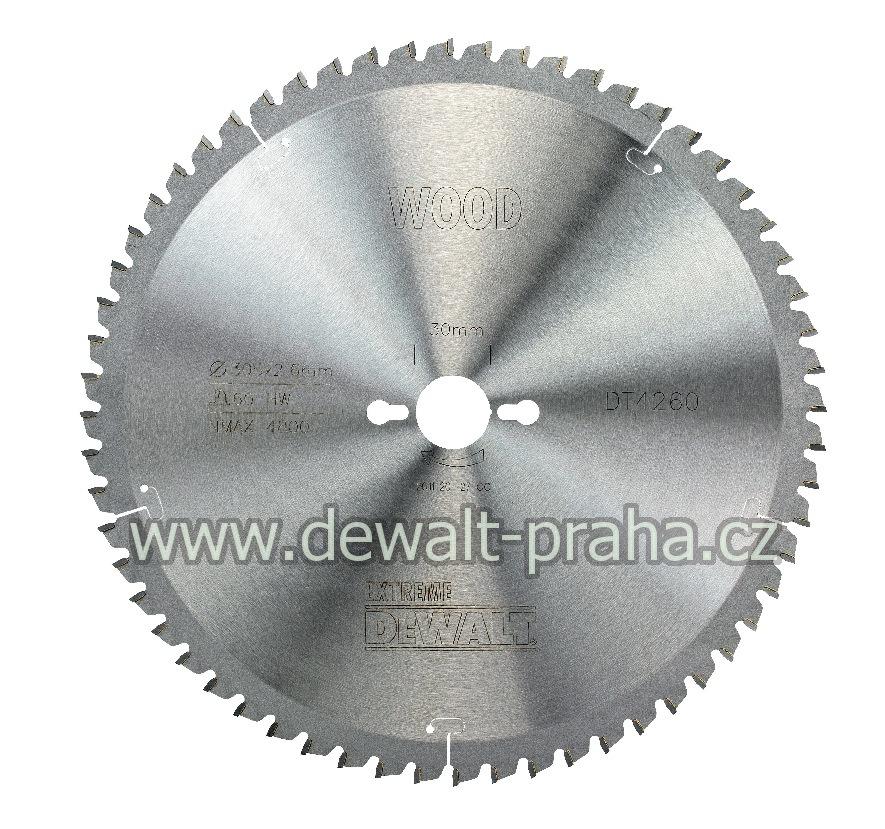 DT4260 DeWALT Pilový kotouč 305x30mm, 60 zubů