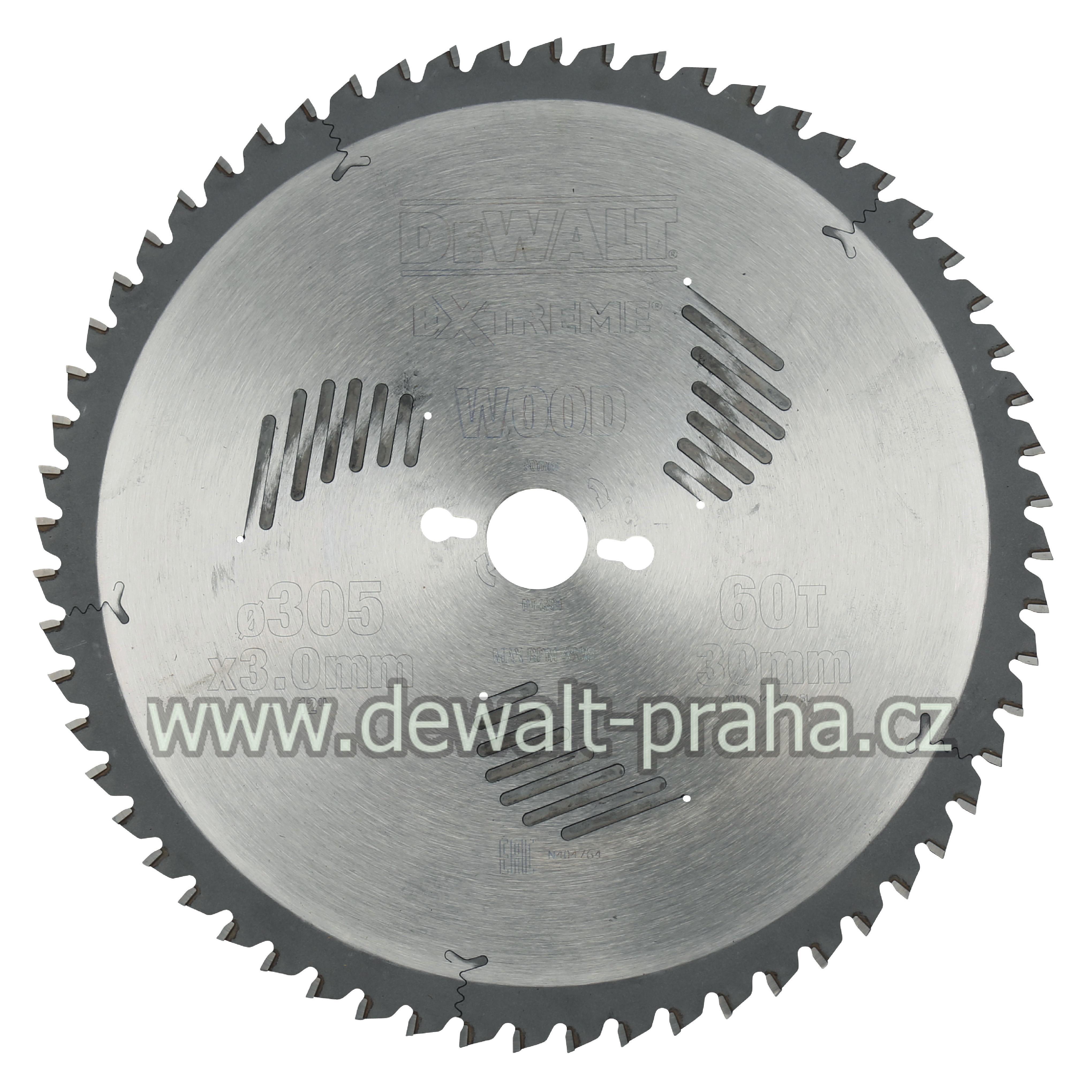 DT4331 DeWALT Pilový kotouč 305x30mm, 60 zubů