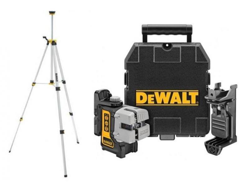 DW089KTRI DeWALT Samonivelační křížový Multi Line Laser + stativ