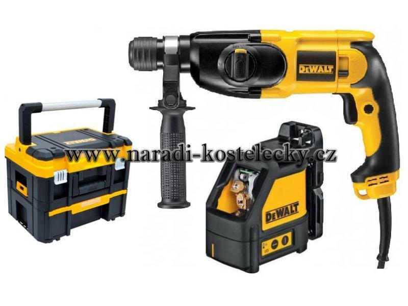 Kombinované kladivo a Laser , TSTAK I+III DEWALT D25013KXT - D25013K , DW088K