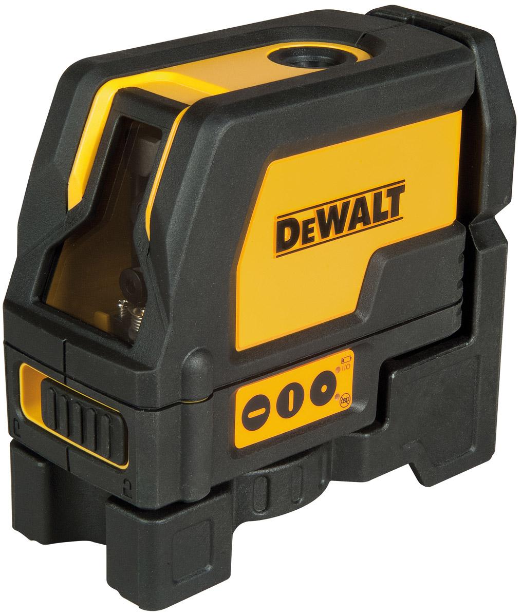 DW0822 DeWALT Samonivelační křížový laser se svislým paprskem jako olovnice