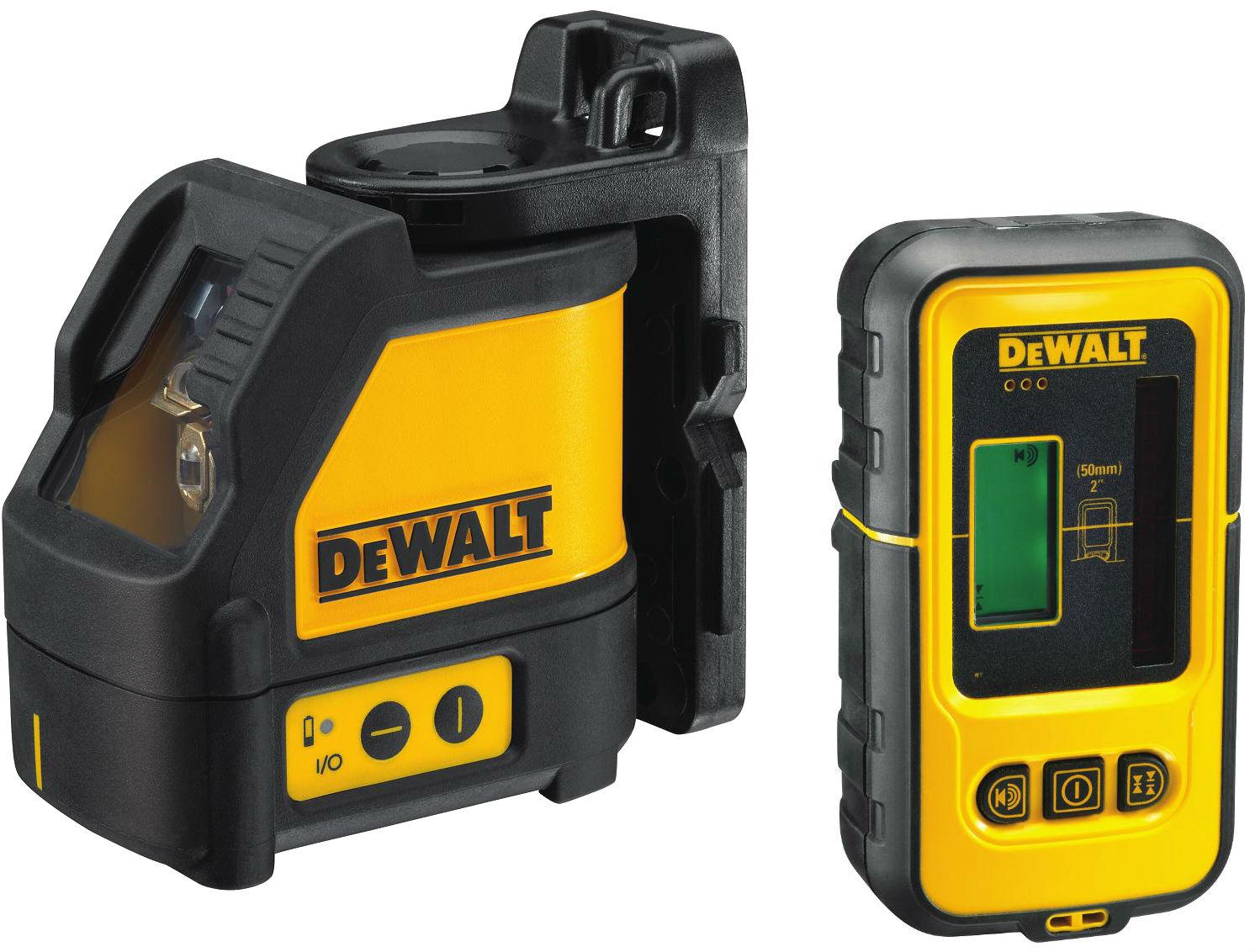 Křížový laser samonivelační s příjmačem DE0892 DeWALT- DW088KD