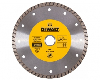 DT3722 DeWALT Diamantový kotouč Turbo 180 x 22,2 mm, Laser 1